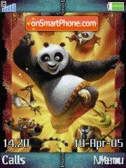 Скриншот темы Kung Fu Panda 02