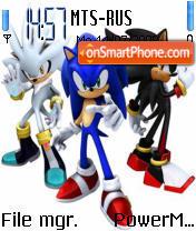 3 Sonic es el tema de pantalla
