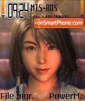 Yuna FFX 2 es el tema de pantalla