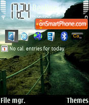 Tropa theme screenshot