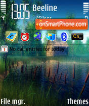Nature 1 theme screenshot