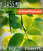 Vista Leaf theme screenshot