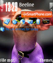 Dogmini theme screenshot