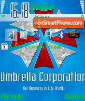 Umbrella es el tema de pantalla