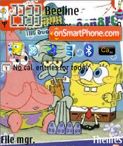 Spongebob Squarepant 01 theme screenshot