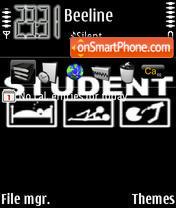 Student es el tema de pantalla