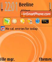 Orange Slush theme screenshot