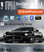 Maserati 02 theme screenshot