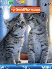 Two Kitten theme screenshot