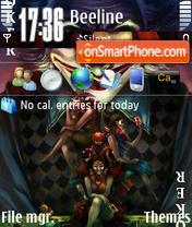 Скриншот темы Joker 01