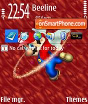 Скриншот темы Super Mario 02