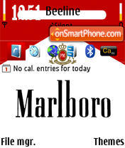 Marlboro 02 theme screenshot