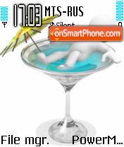 Pool Glass es el tema de pantalla