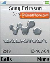 Walkman Grey theme screenshot