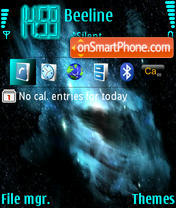 Stars theme screenshot