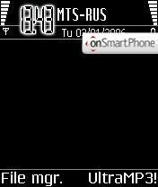 Скриншот темы Black Quite