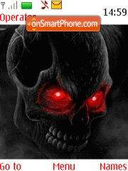Скриншот темы Skull 2