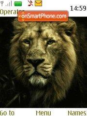 Lion 1 theme screenshot