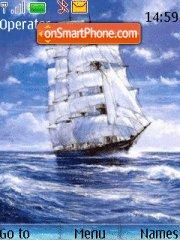 Sailing ship theme screenshot