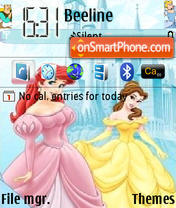 Disney Princess 01 es el tema de pantalla