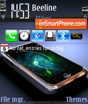 Iphone Dream 01 theme screenshot