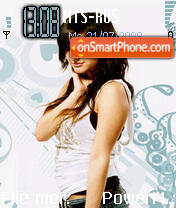 Ashlee Simpson theme screenshot