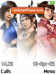 Tekken 6 Girls es el tema de pantalla