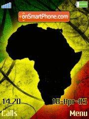 Africa 03 es el tema de pantalla