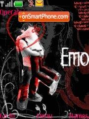 Emo Love 06 theme screenshot
