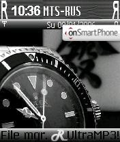 Rolex theme screenshot
