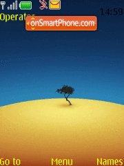 Desert 01 es el tema de pantalla