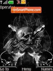 Dark Rock theme screenshot