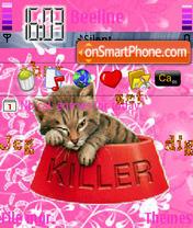 Killer Kitty theme screenshot