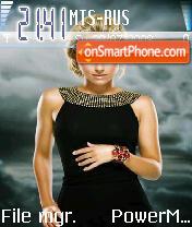 Hayden Panettiere es el tema de pantalla