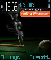 Billiard 4 fun theme screenshot