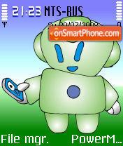 Migbot theme screenshot