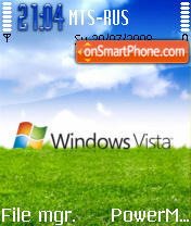 Vista Grass Edition 2 theme screenshot