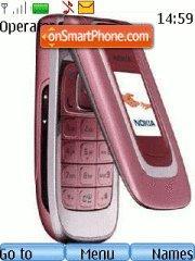Nokia 6131 es el tema de pantalla
