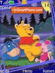 Скриншот темы Good Night Pooh