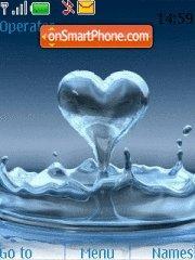 Water Heart Drop es el tema de pantalla
