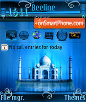 Tajmahal theme screenshot