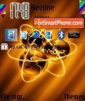 Atomic Worlds theme screenshot
