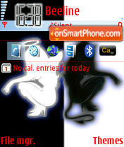 AngelAndDevil tema screenshot