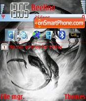 Dragon tema screenshot