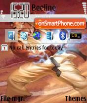 Скриншот темы Ryu