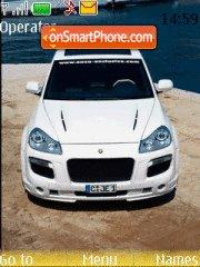 Porsche Cayenne theme screenshot