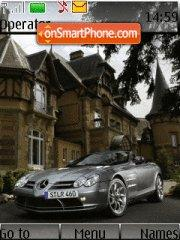 Mercedes-benz Slr theme screenshot
