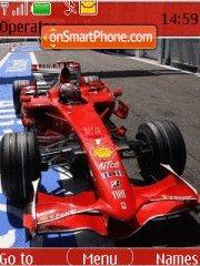Ferrari F1 France theme screenshot