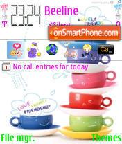 Capture d'écran Cute Cup thème