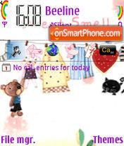 Sweetsmell theme screenshot